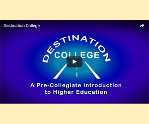 Interview and promo for Destination College