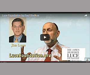 Green Screen promo for The Luce Foundation