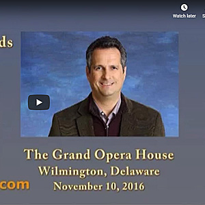 Jim Lee at the Grand Opera House